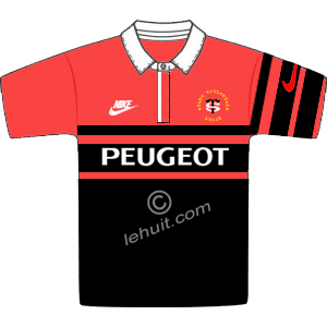 Maillot rouge 9697