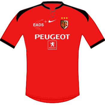 Maillot rouge 2009-2010