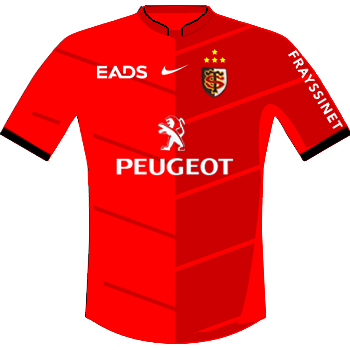 Maillot rouge 2010-2011