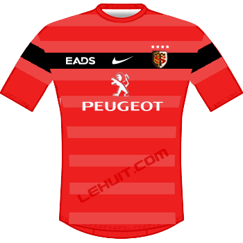 Maillot rouge 2012-2013