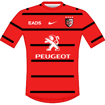 Maillot rouge 2013-2014