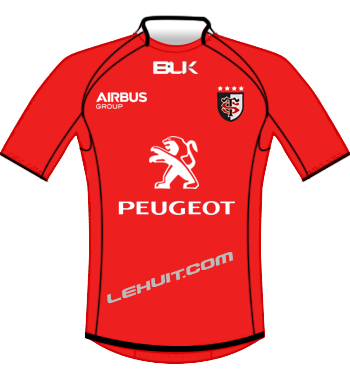 Maillot rouge 2014-2015